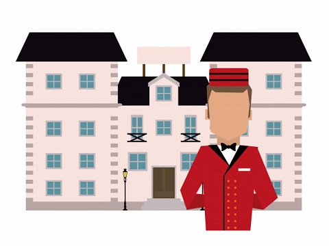 Baggage Porters, Bellhops, and Concierges
